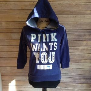 PINK Victoria's Secret hooded sweatshirt